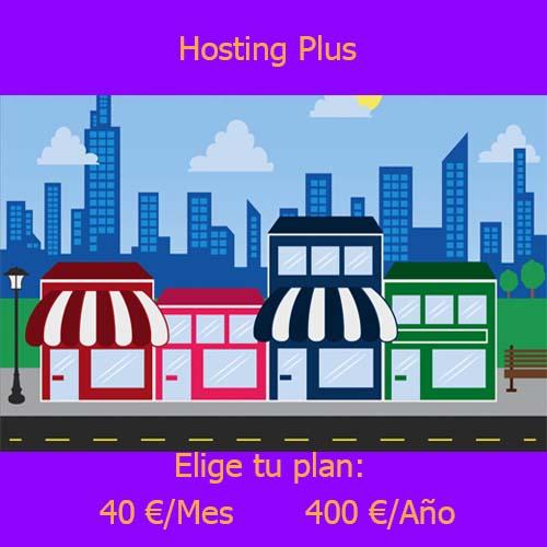 hosting Plus producto