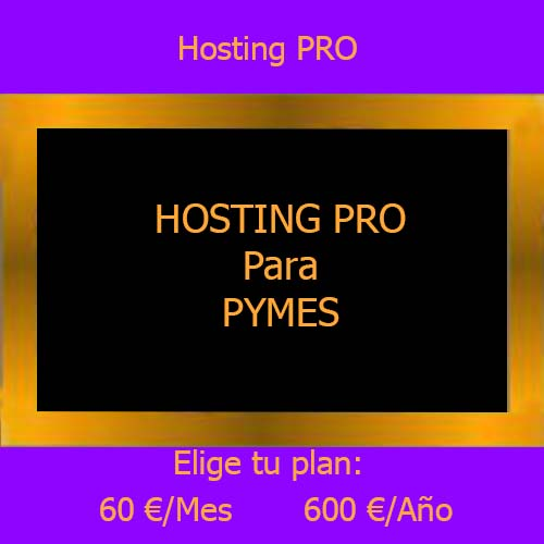 hosting Pro producto
