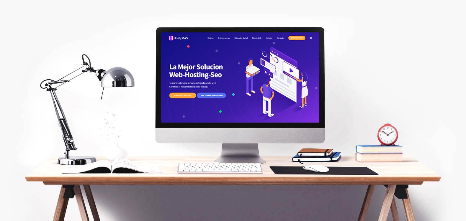 Hosting y diseño web