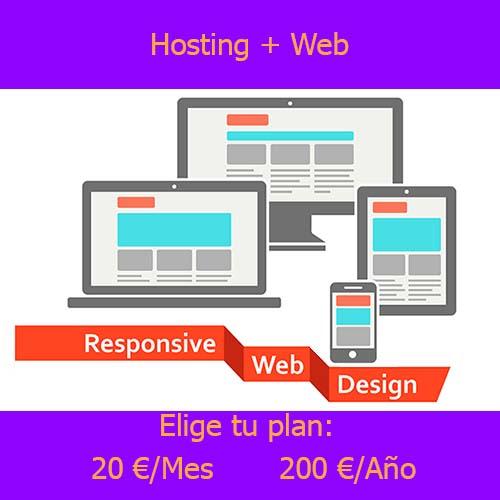 hosting-web producto